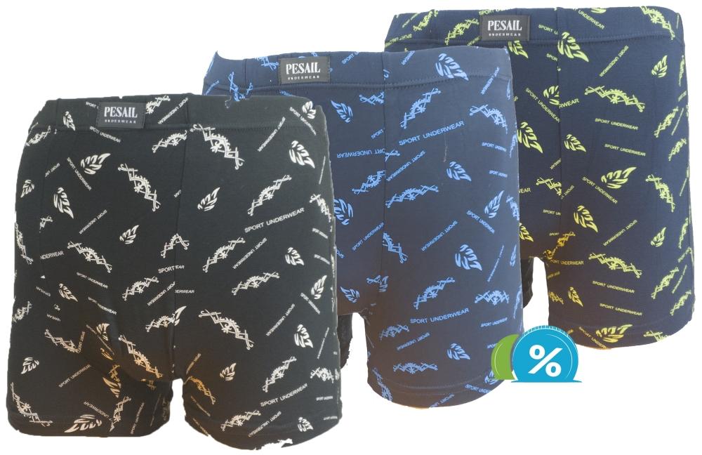 be5141a5f Bambusové boxerky Pesail M0227 - 1ks, velikost XXXL | zaparkorun.eu