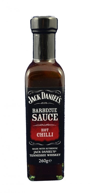 Jack Daniel´s Barbecue Sauce Hot Chilli, 260g
